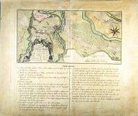 Basel Karte der Schlacht bei St. Jakob vom 26.8.1444