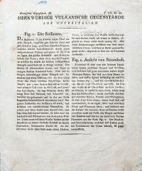 Fig. 1 Die Solfatara, Fig. Ansicht von Stromboli