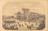 Das Wagner-Theater in Bayreuth nach seiner Vollendung