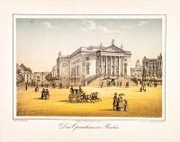 Berlin Stadtansicht mit Opernhaus