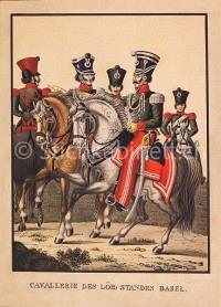 Basel Cavallerie des löb: Standes Basel
