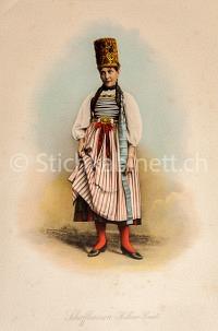Mode Trachten Schaffhausen Hallauer Braut