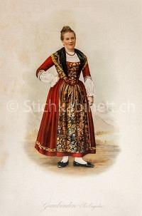 Mode Trachten Graubünden Oberengadin
