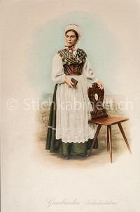 Mode Trachten Graubünden Vorderrheitalerin