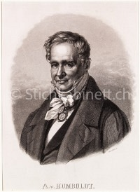 Portrait Alexander von Humboldt