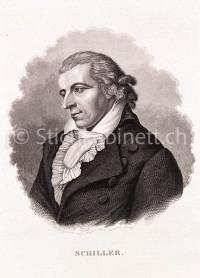 Portrait Dichter - Friedrich Schiller