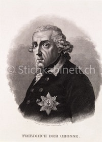 Portrait Friedrich der Grosse