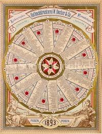 Drehbarer Heiligenkalender