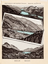 Graubünden St Moritz Maloja