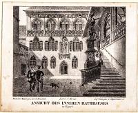 Basel  Ansicht des inneren Rathauses