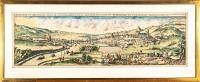 Genf Panorama-Ansicht von Genf und Umgebung 1640