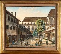 Basel Kreuzgang des Barfüsserklosters (?)