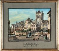 Basel Aeschenschwibbogen abgebrochen 1837