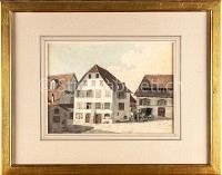Basel Mechelmühle Klingentalkloster von hinten